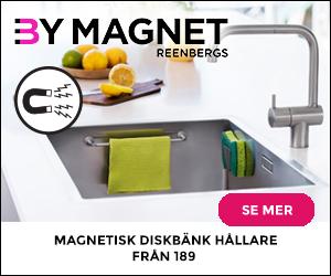 Magnetisk diskborstehållare och andra smarta magnetiska lösningar för ditt hem