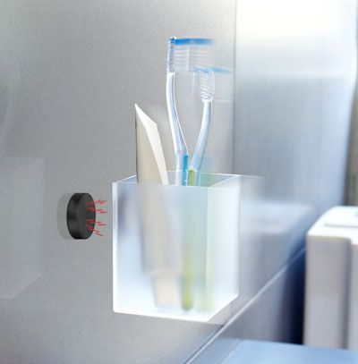 Image of   Svævende Magnet Akryl boks - hvid