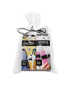 Bathroom Essentials (Shampoo Holders + Hooks)