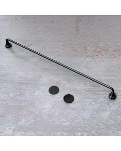 Magnetic Towel Holder Black Alu