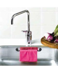 Magnetisk karkludholder til ophæng i vasken, helt uden værktøj.